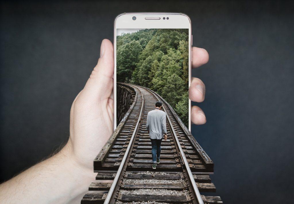 Une photo de smartphone