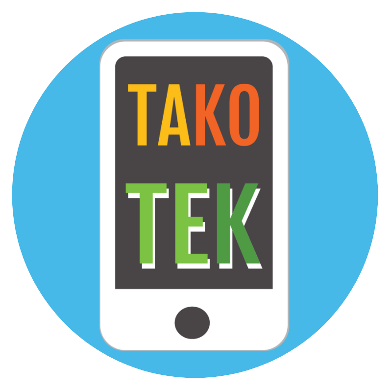 Logo de takotek représentant un smartphone